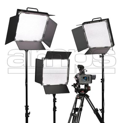 Lishuai LED 3 Head TV Lighting Kit