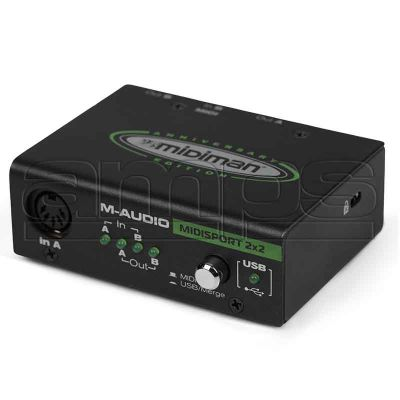 M-Audio Midisport 2x2 MIDI USB Interface