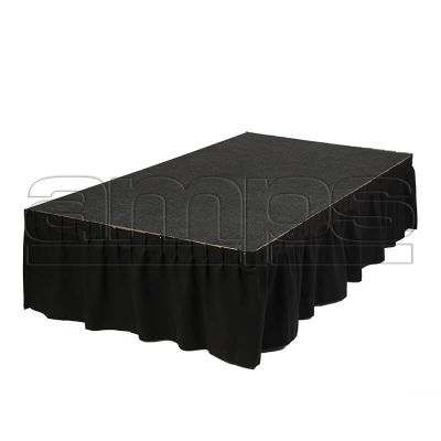 2m x 1m Revo Stage (Grey Carpet)