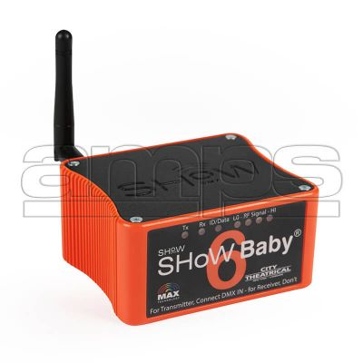 City Theatrical SHoW Baby Wireless DMX Transceiver