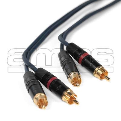 1m Stereo Phono Patch Cable